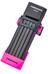 Trelock FS 200/75 TWO.GO - Candado de cable - 75 cm rosa